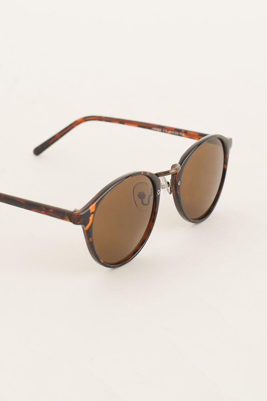 Calais Sunglasses, Leopard