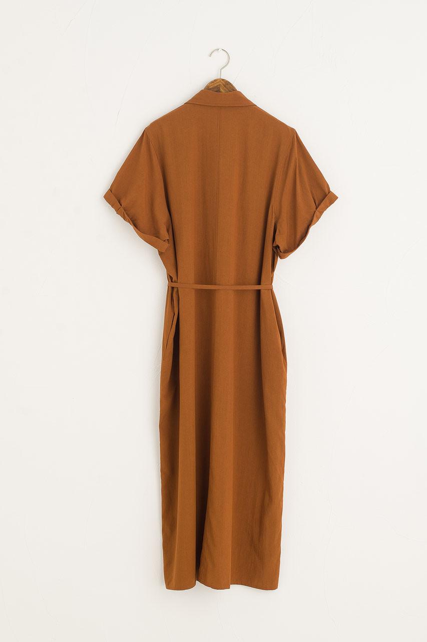 Serena Shirt Dress, Rust