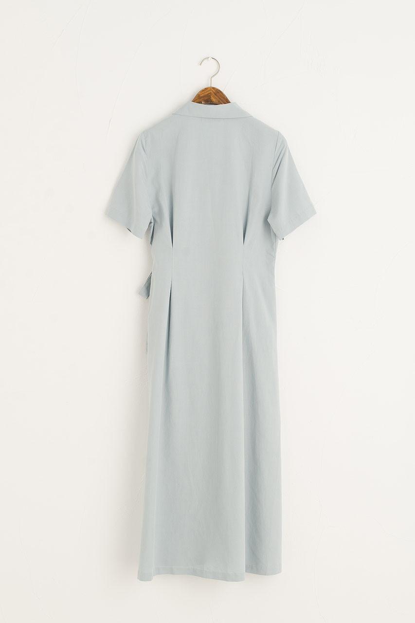 Cala Shirt Dress, Blue