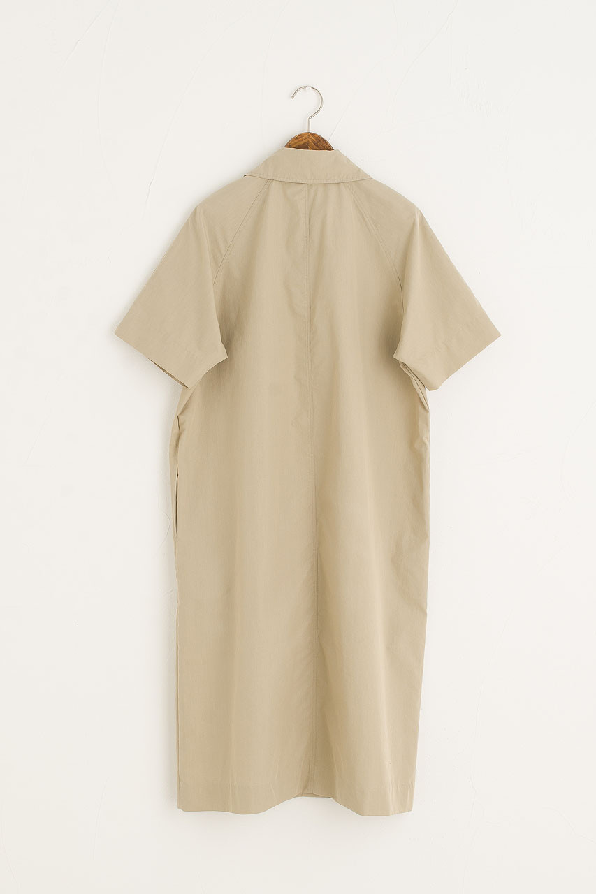 Big Pocket Shirt Dress, Khaki