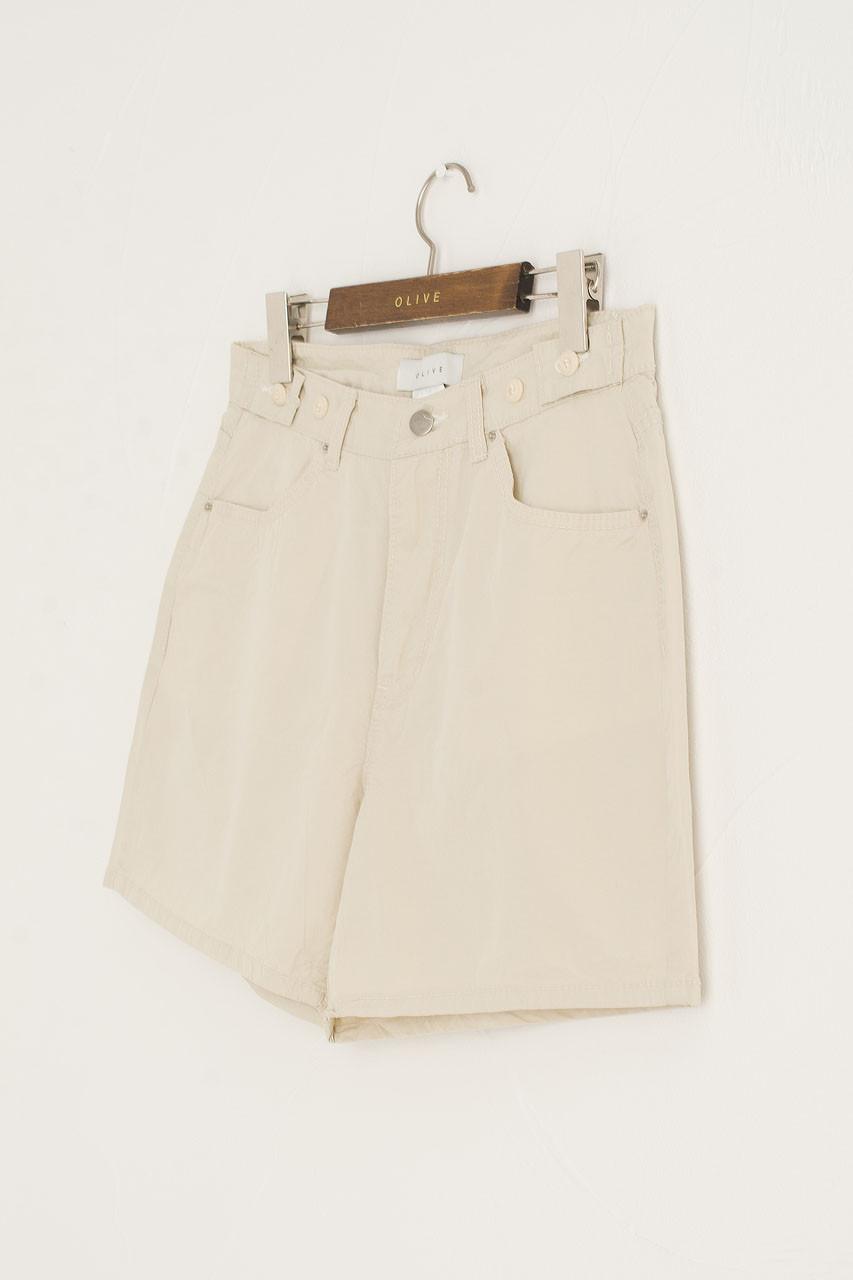 Hanako Camper Shorts, Beige