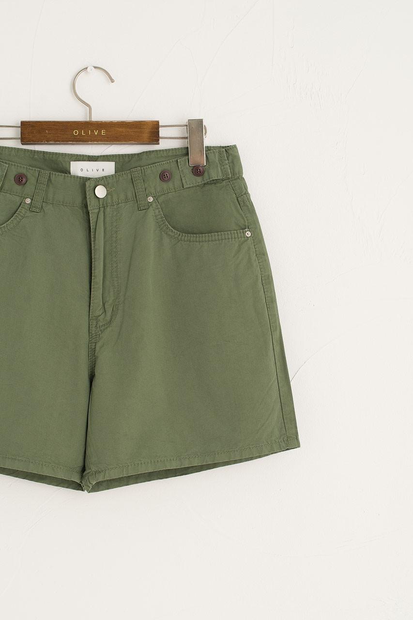Hanako Camper Shorts, Green