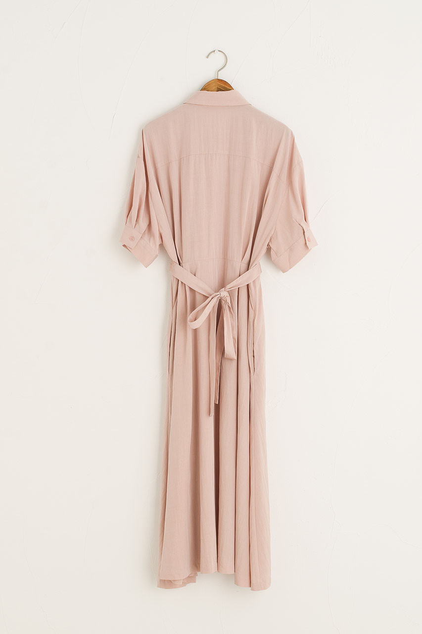 Venice Shirt Dress, Light Pink