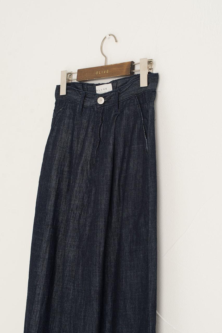 Light Weight Indigo Pants, Indigo