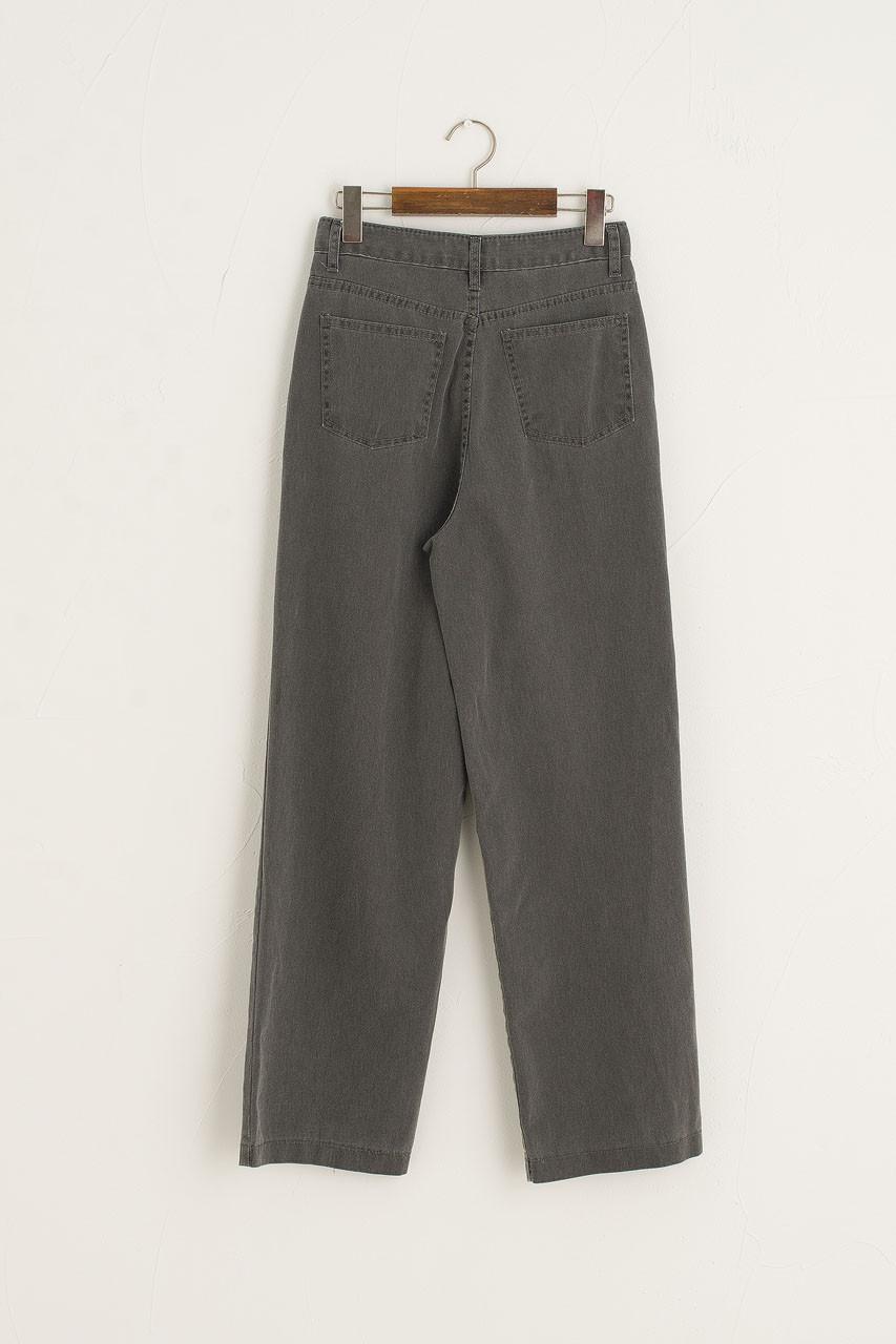 Jina Wide Jean, Charcoal