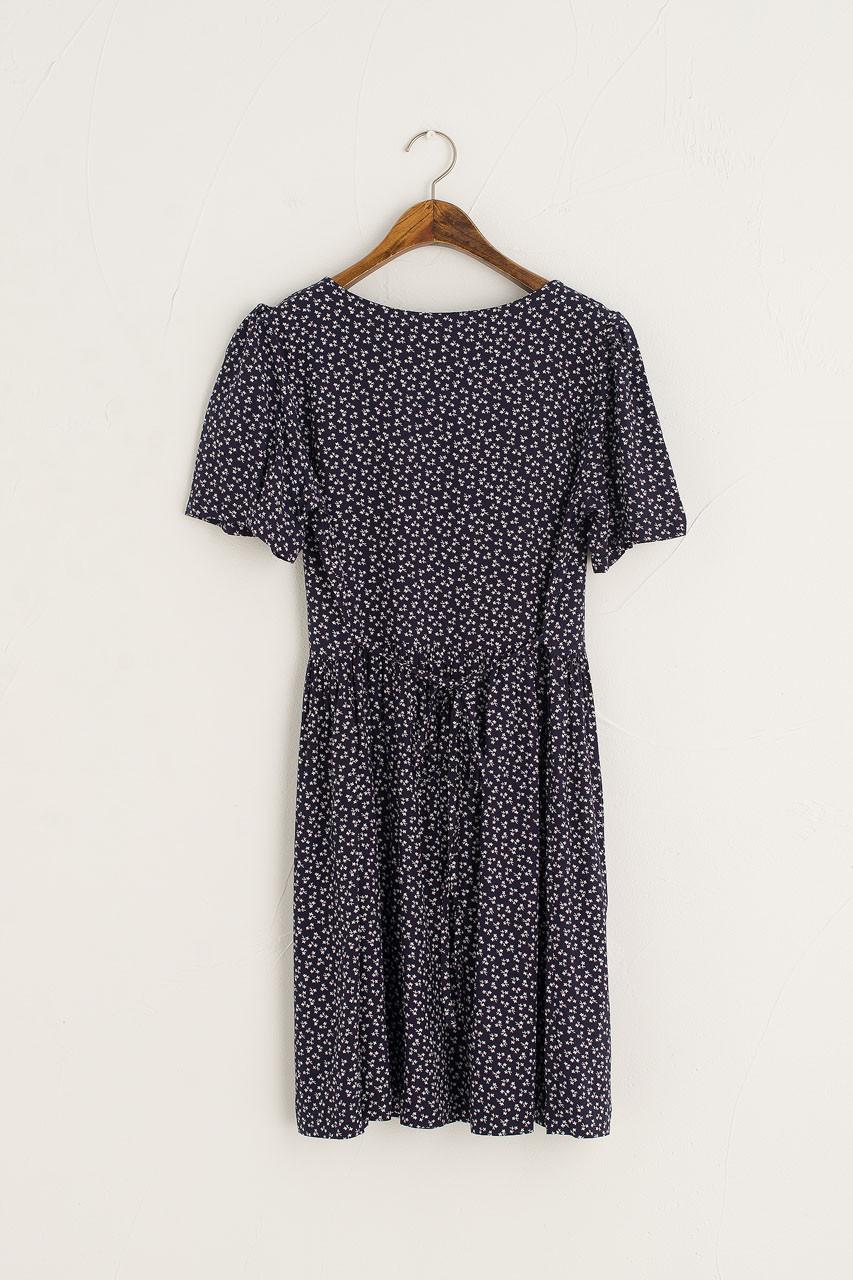 Sapling Mini Dress, Navy