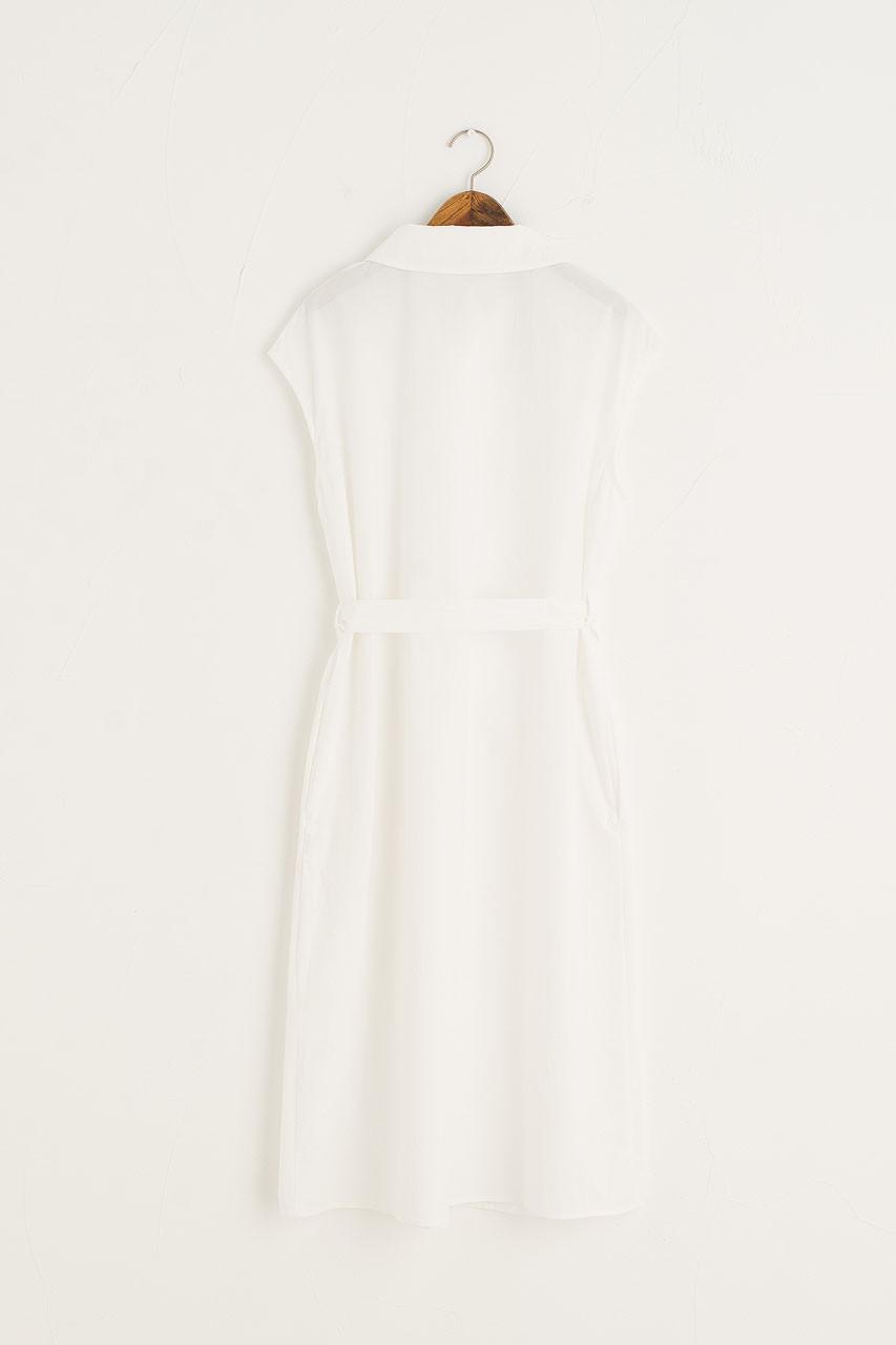 Tomo Shirt Dress, Ivory
