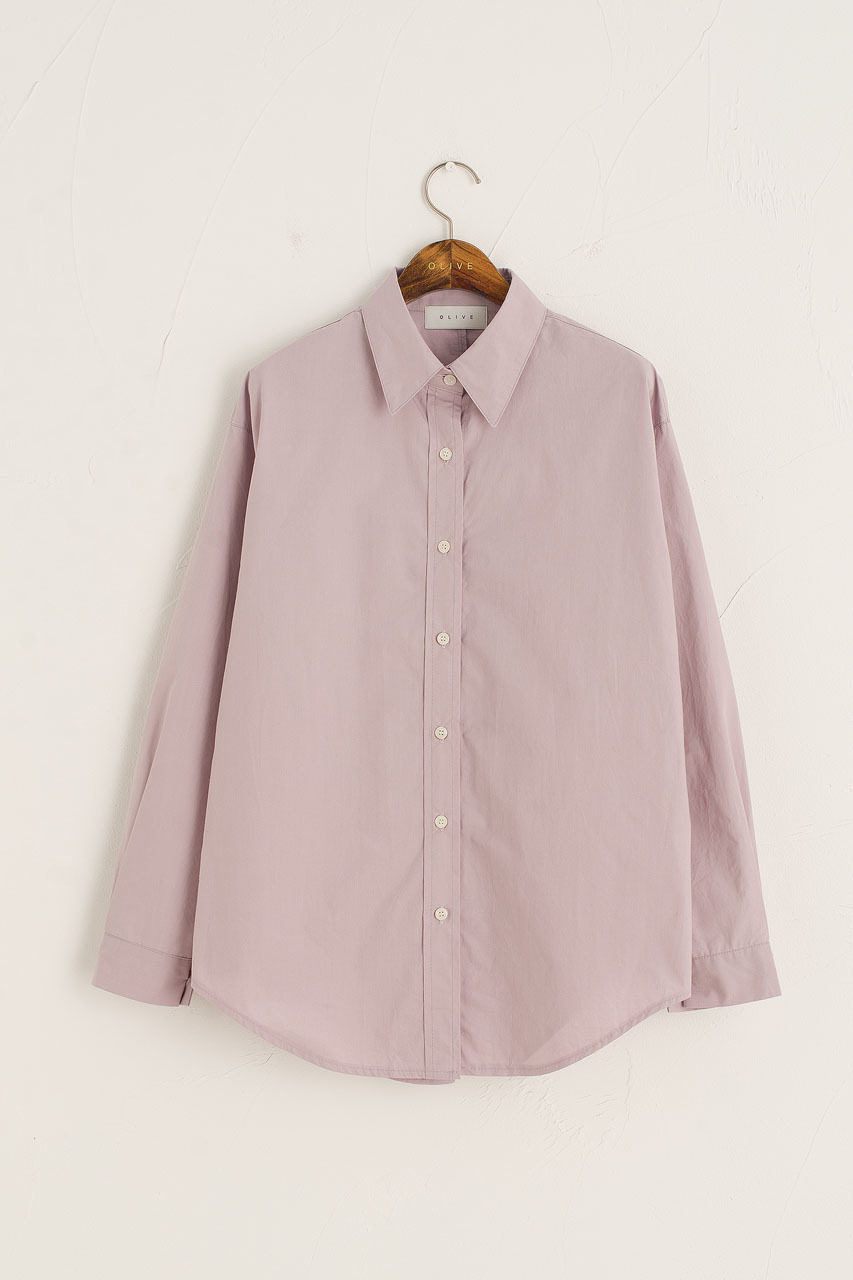 Jina Classic Shirt, Lilac
