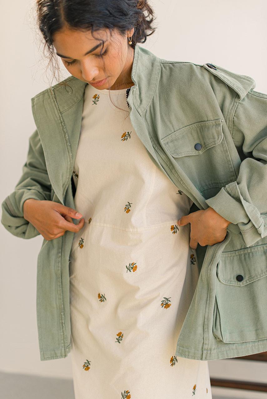 Twin Pocket Field Jacket, Sage