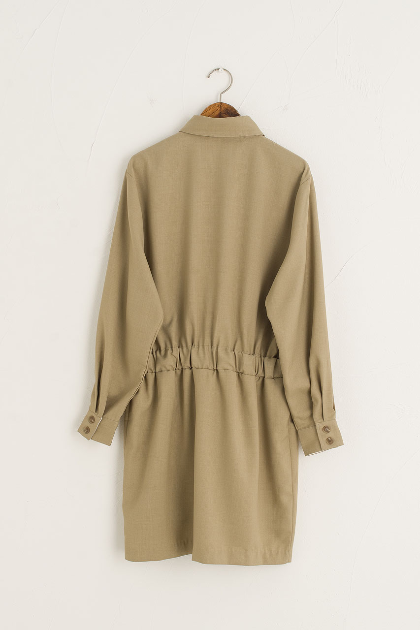 Ebba Shirt Dress, Khaki