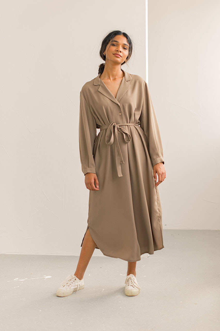 Fi Shirt Dress, Olive Green