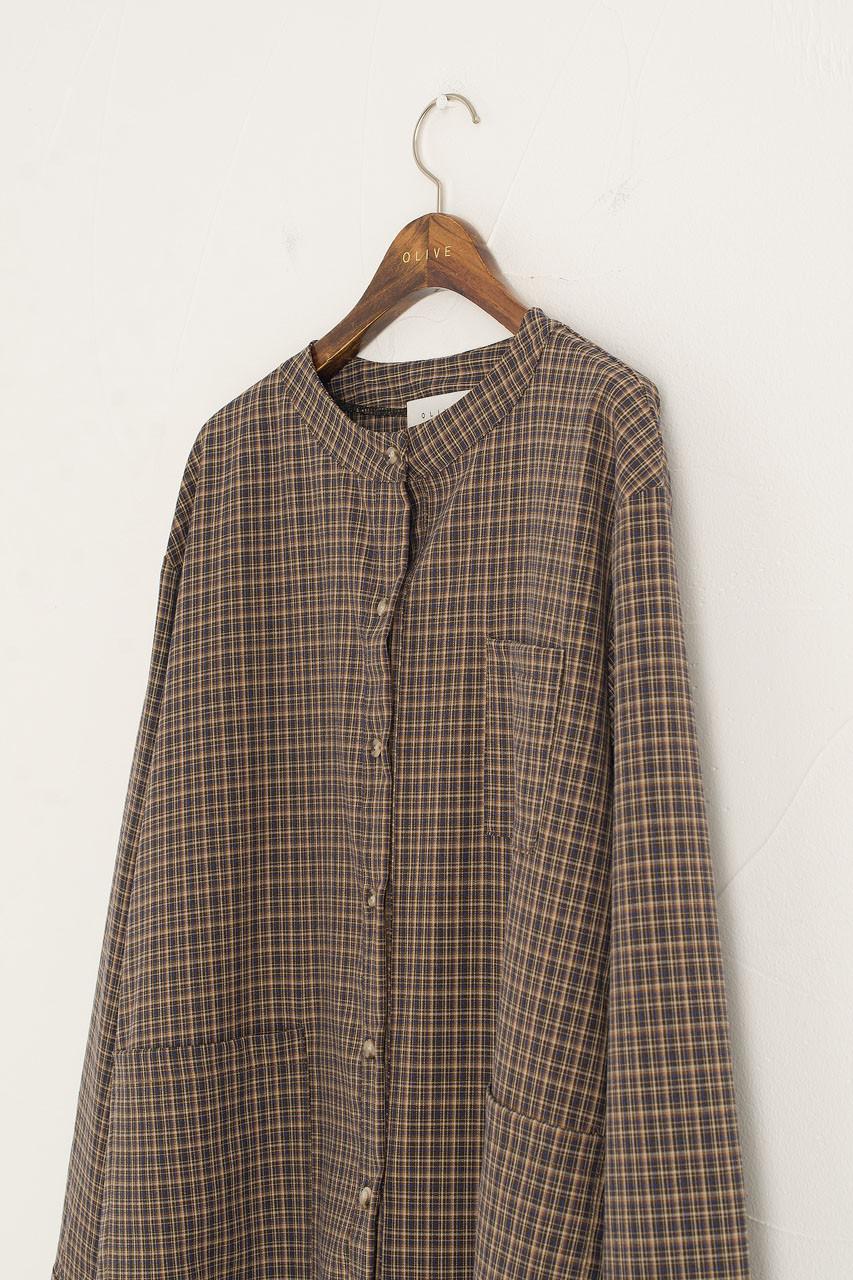 Sorrell Check Dress, Brown