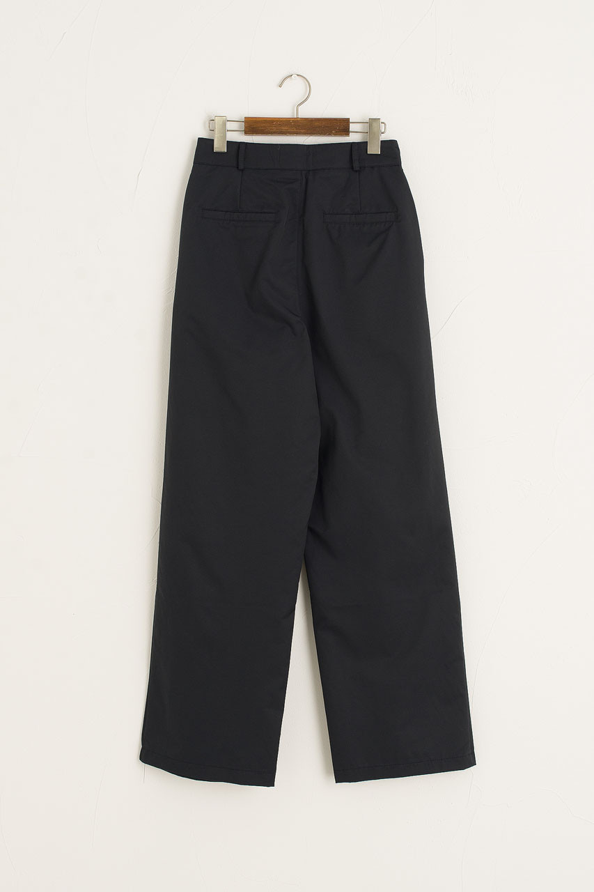 Comma Pleated Trousers, Navy