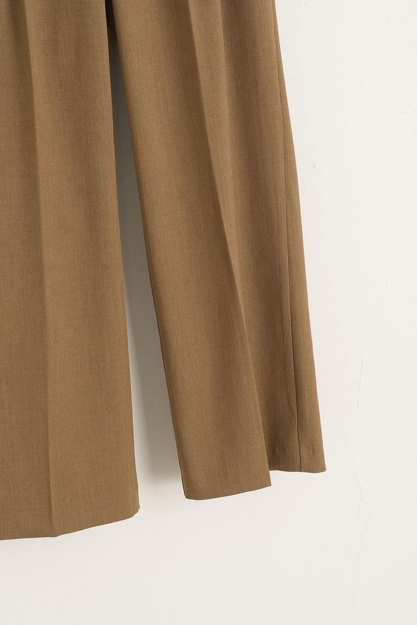 Emiko Pintuck Trousers, Camel