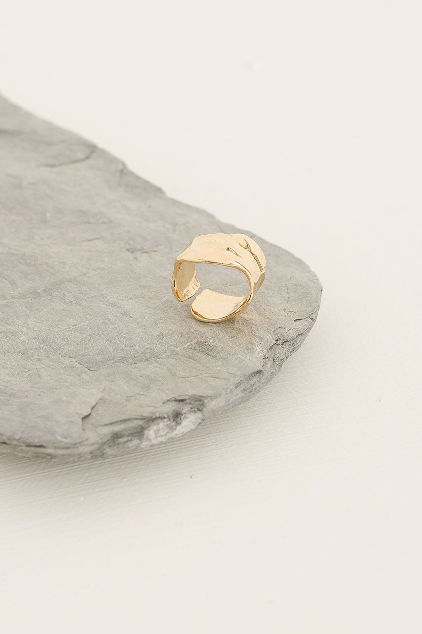 Warp Ring, Gold Plated