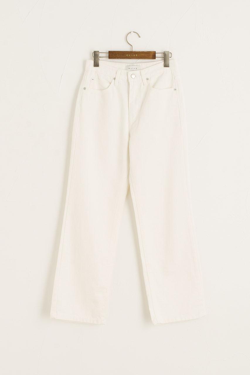 Koya Straight Jean, White