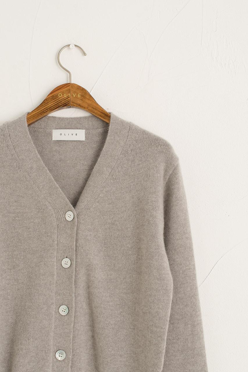 Moya Soft Cardigan, Grey