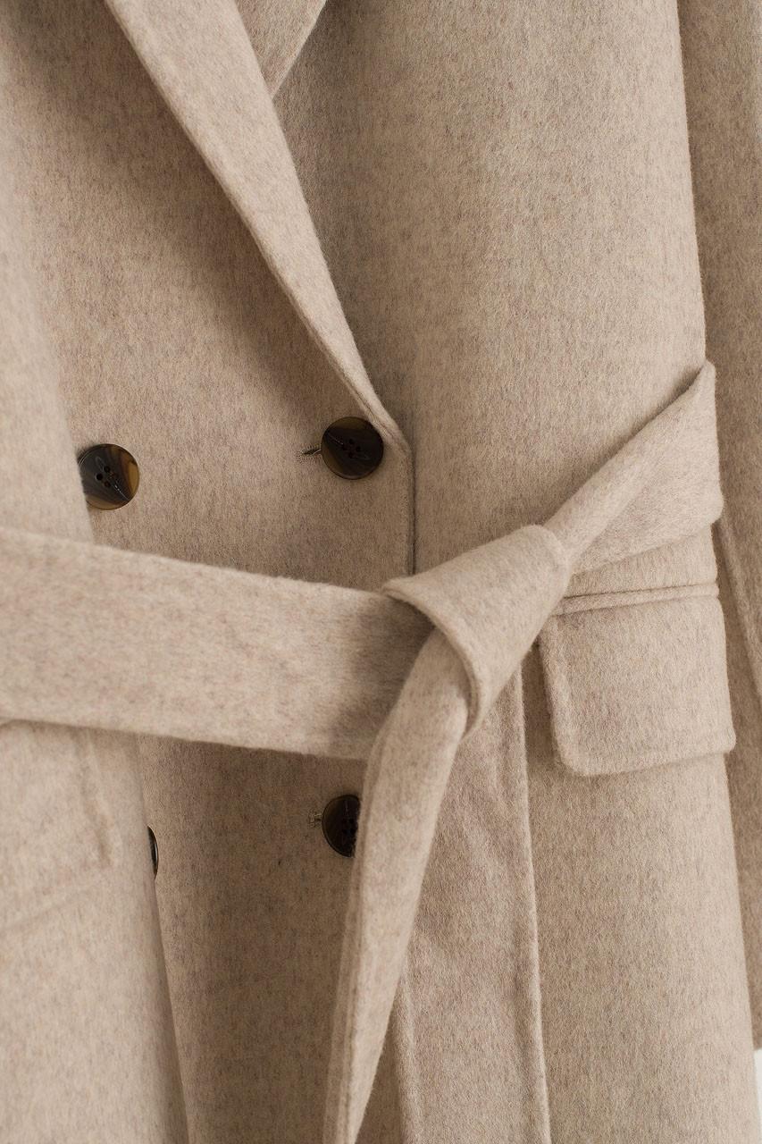 Moya Robe Coat, Oat