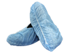 Shoe Cover - One Size Fits Most - Nonskid Sole - Blue - Non-Sterile