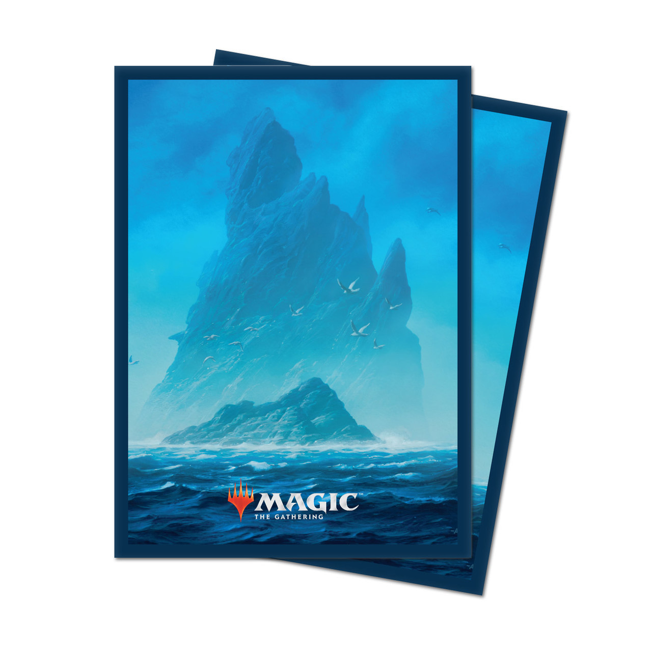 Ultra Pro 100 MTG Standard Card Sleeves Unstable Land Island