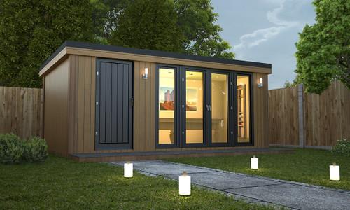 Combi style garden room, garden rooms, garden office, man cave, garden offices, garden buildings, garden studio, outbuildings