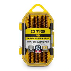 .38 cal/9mm Bronze Bore Brushes 10 Pack
