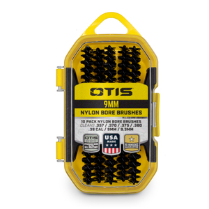 .38 cal/9mm Nylon Bore Brushes 10 Pack