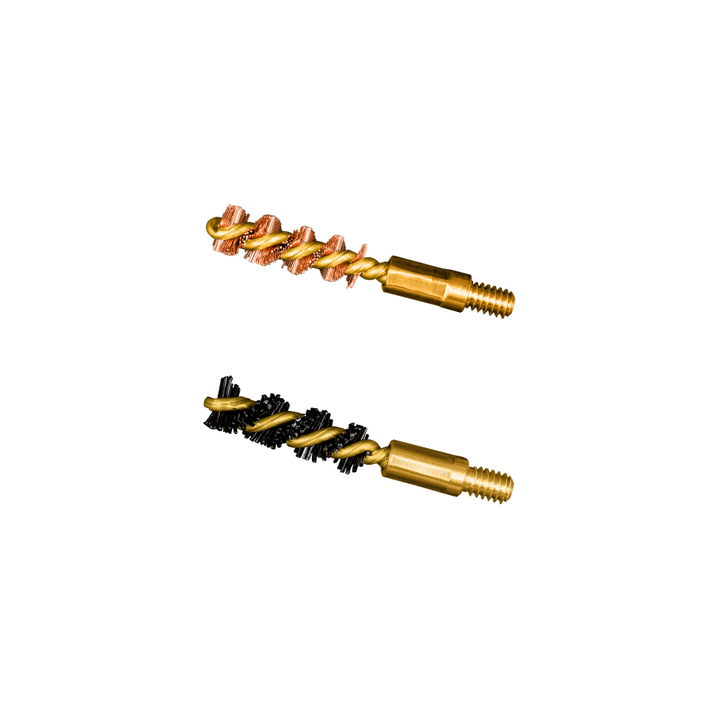 .22 cal Limited Breech Bore Brush 2 Pack (1 nylon/1 bronze)