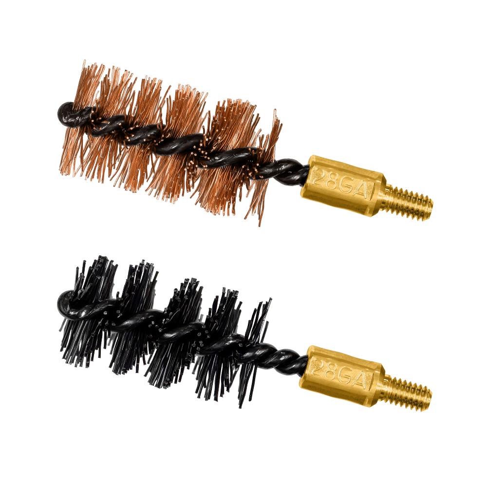 28 ga Bore Brush 2 Pack (1 nylon/1 bronze)