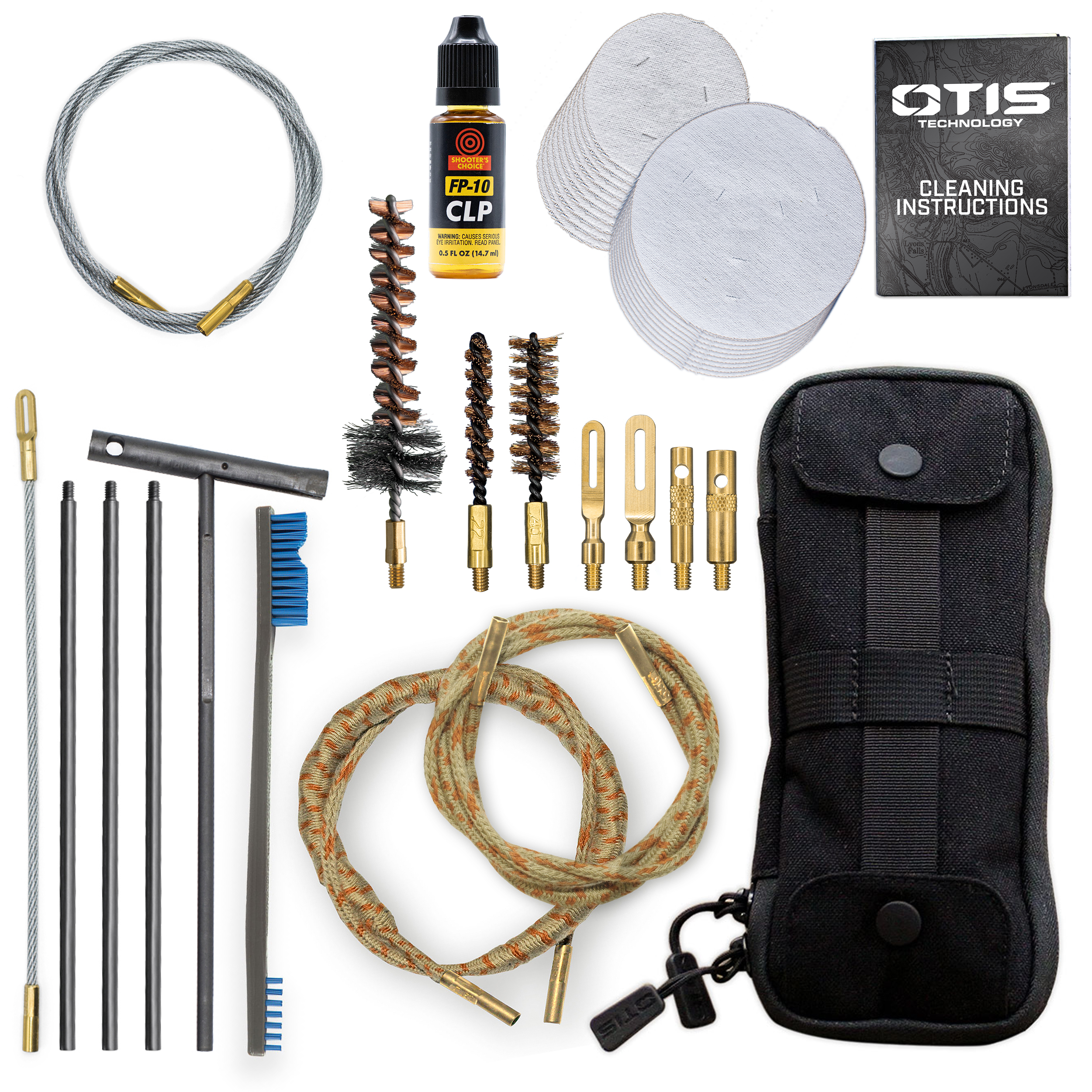 .223 cal/5.56mm / .40 cal Defender™ Series  Cleaning Kit
