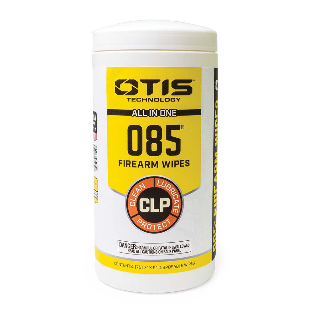 75 Count O85 CLP Gun Cleaning Wipes