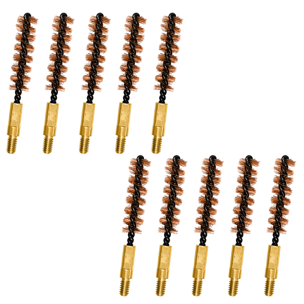 6.8mm/.270 cal Bronze Bore Brushes 10 Pack