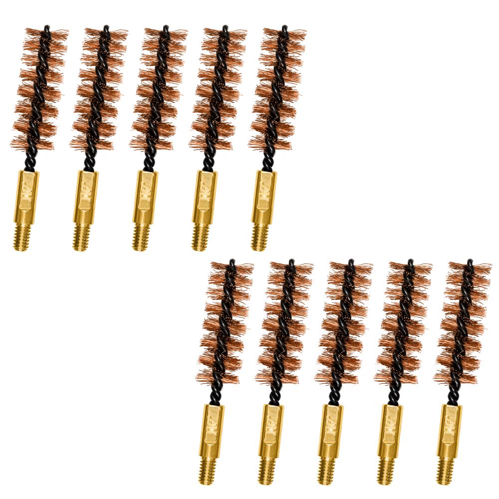 .40 cal Bronze Bore Brushes 10 Pack