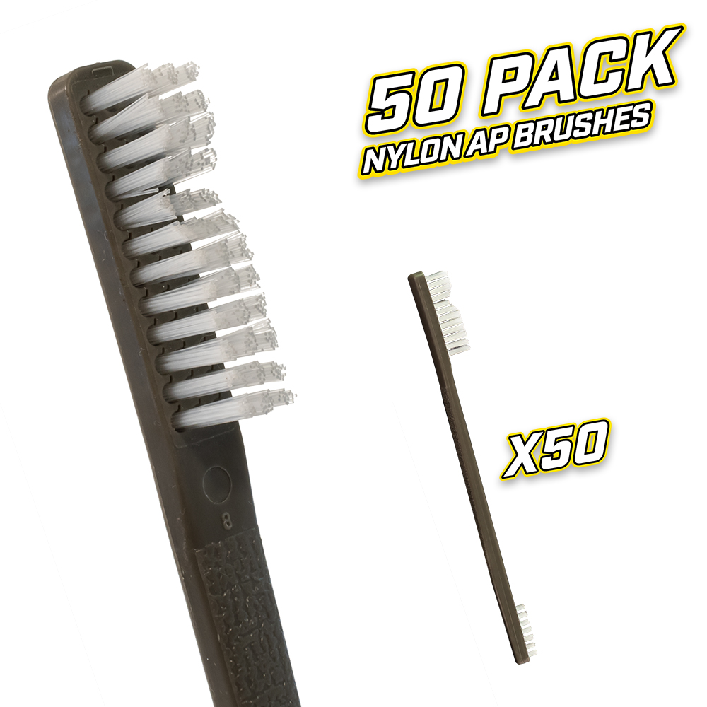 50 Pack Nylon AP Brushes