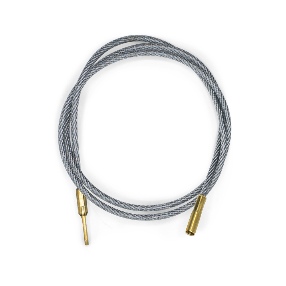 "30"" Cleaning Cable with Large Caliber Tip"