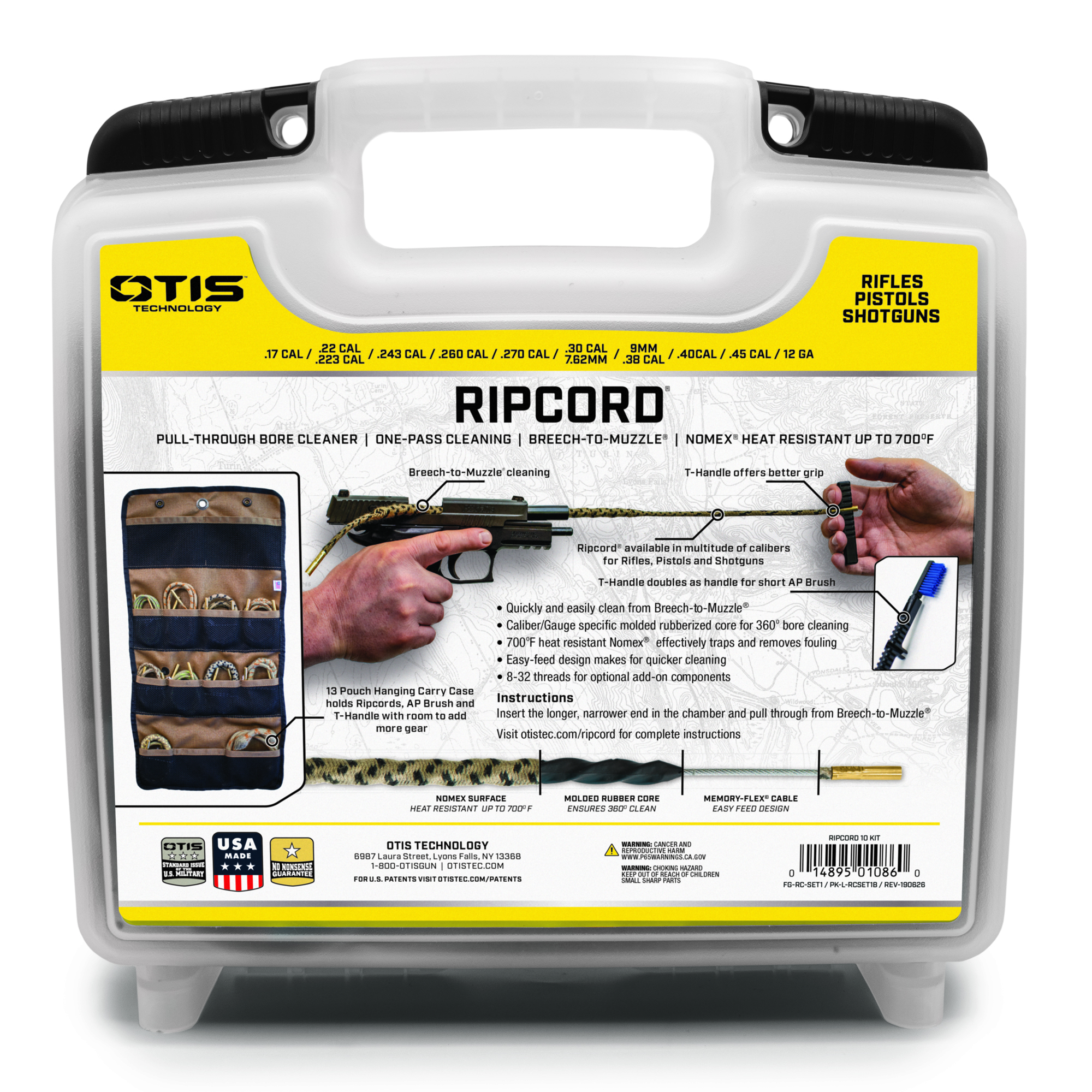 Ripcord® Multi-Caliber 10 Pack