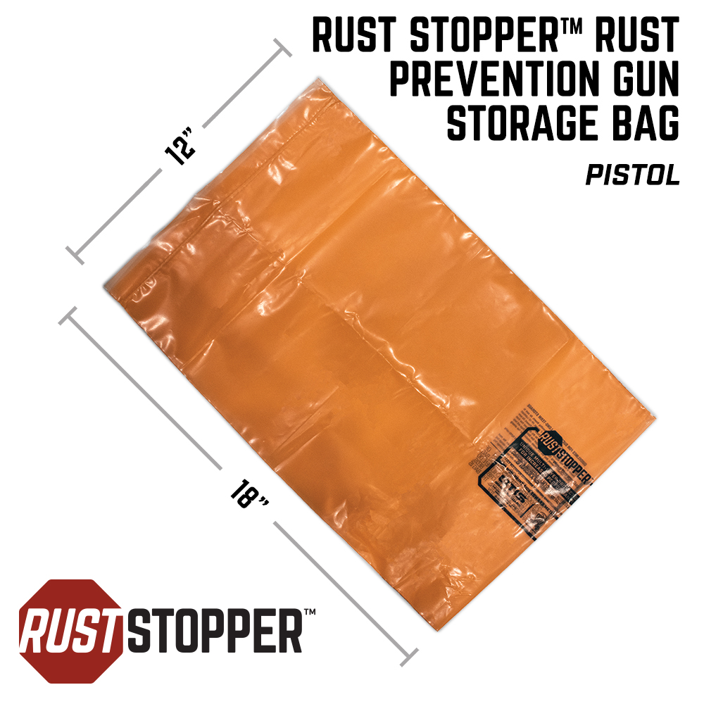 Rust Stopper™ Rust Prevention Storage Bag - Pistol 3 Pack
