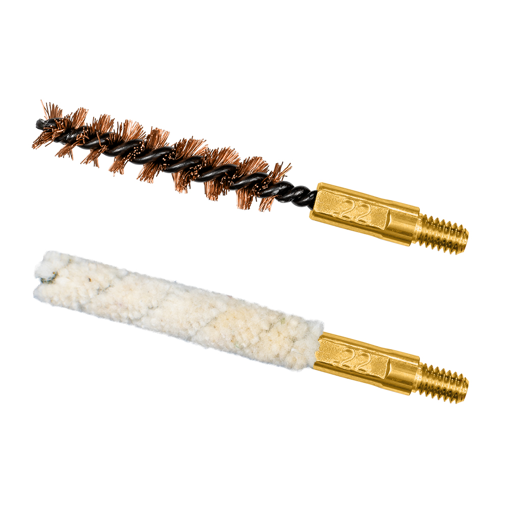 .22/.223 cal Bore Brush/Mop Combo Pack