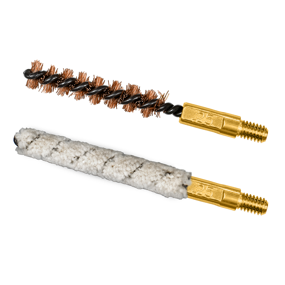 6mm/.243cal Bore Brush/Mop Combo Pack