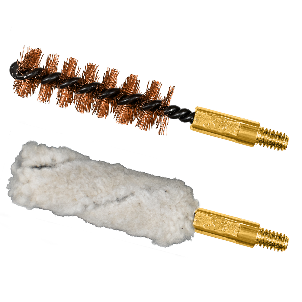 .38 cal/9mm Bore Brush/Mop Combo Pack