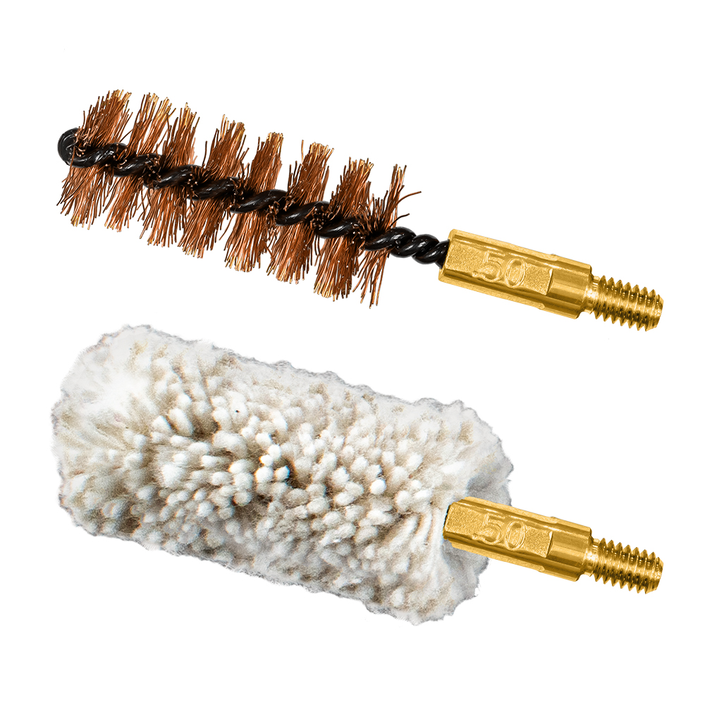 .50 cal/12.7mm Bore Brush/Mop Combo Pack