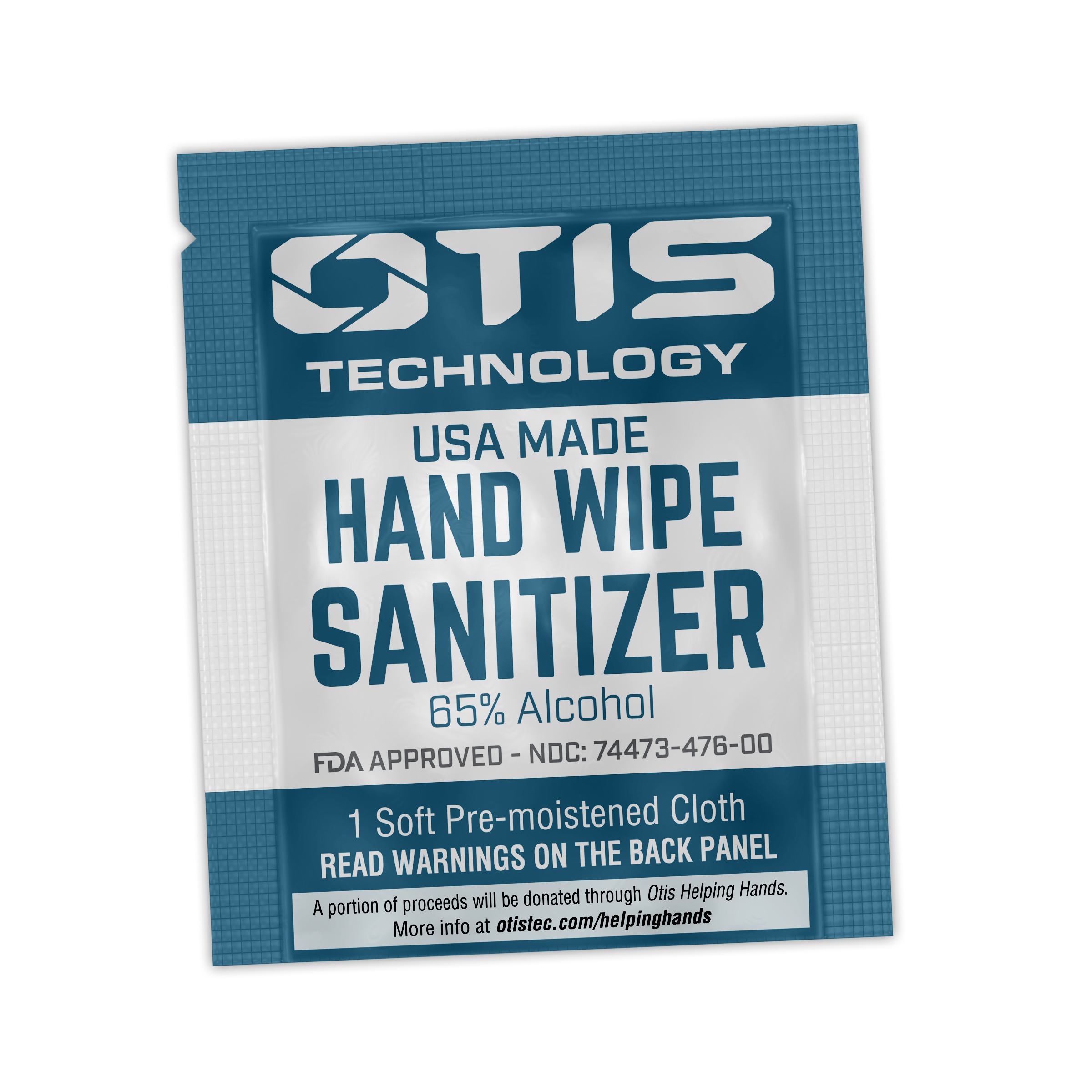 Hand Sanitizer Wipes (25 Pack)