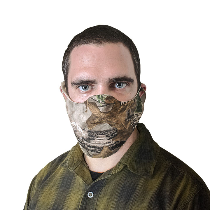 Reusable Face Mask Multi Packs - Camo