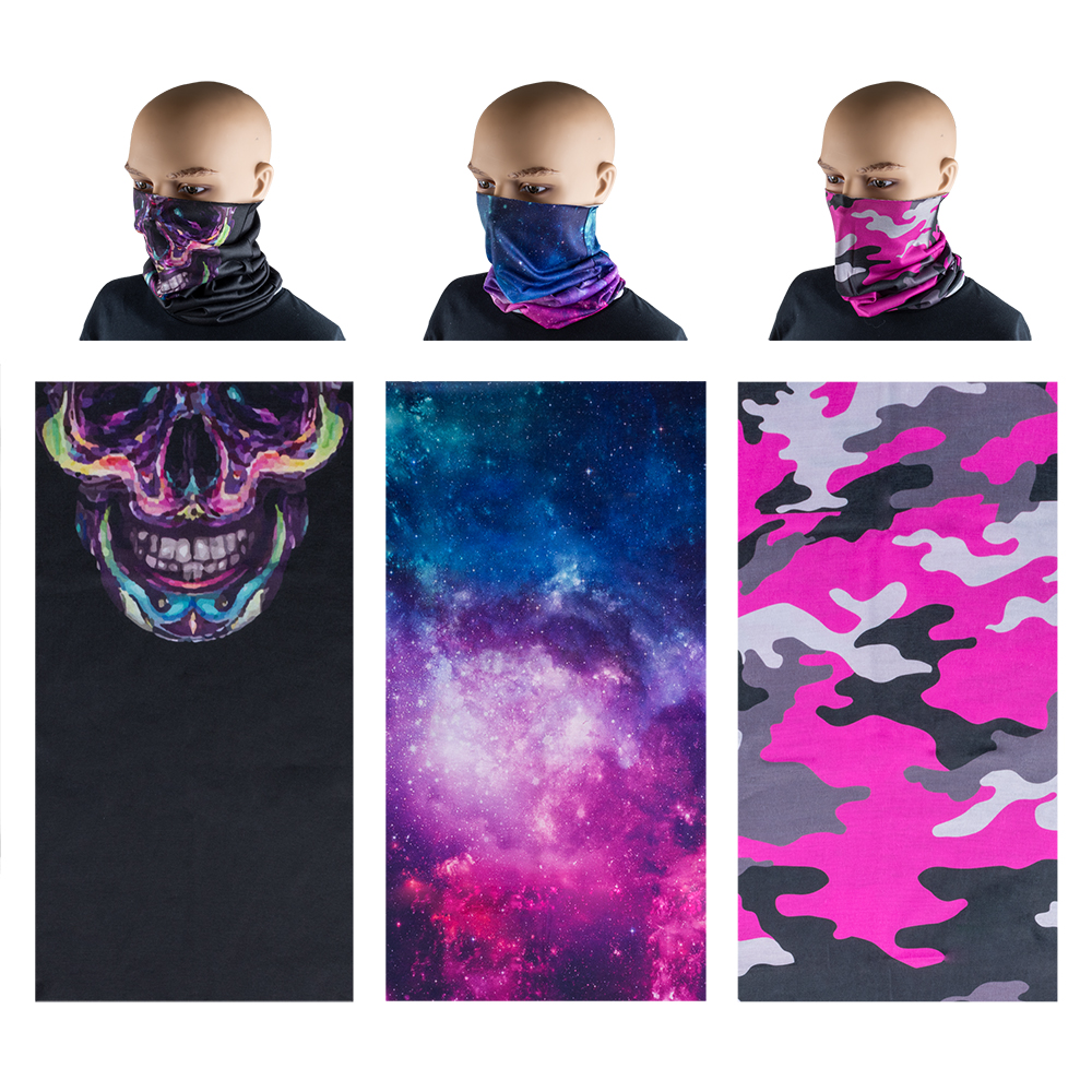 Neck Gaiter 3 Pack - Pretty in Pink