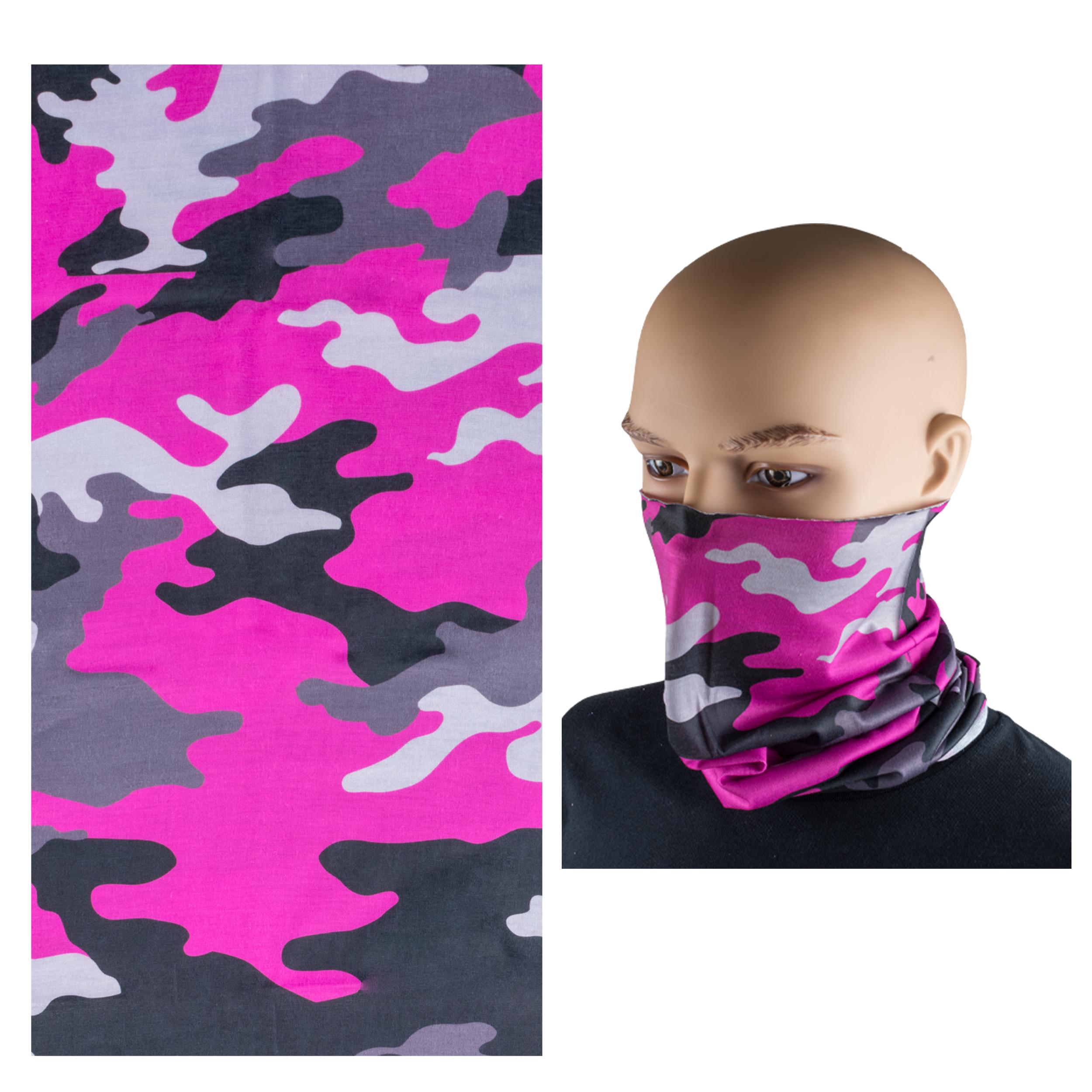 Neck Gaiter 3 Pack - Pretty in Pink