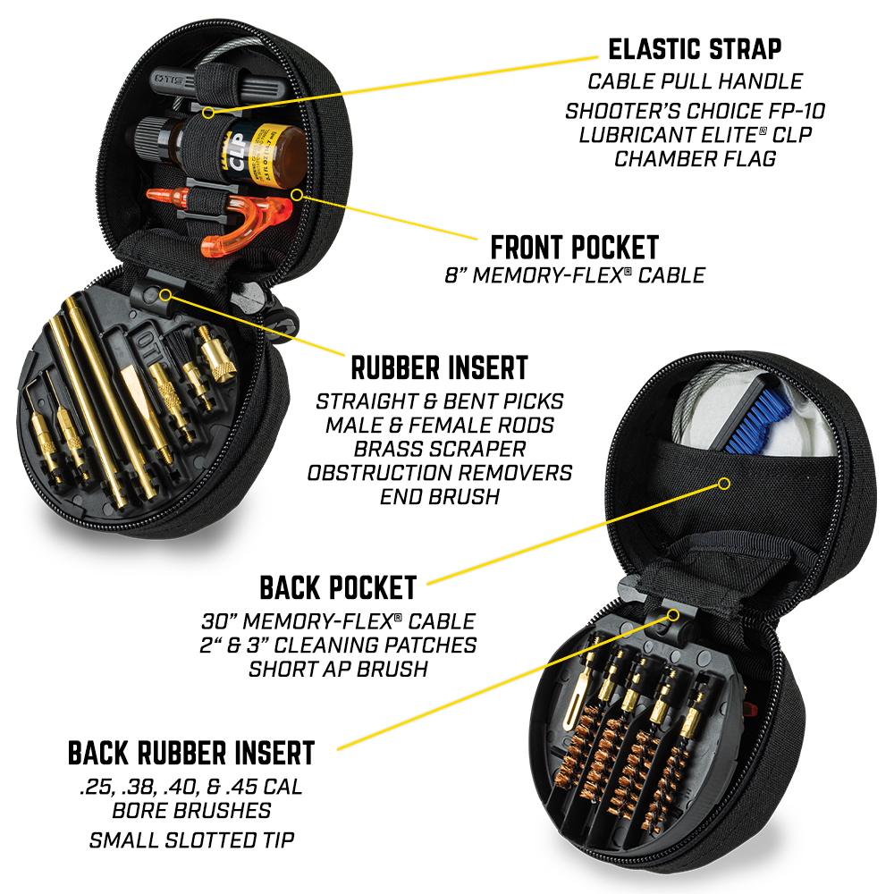 LE Rifle/Pistol Cleaning System