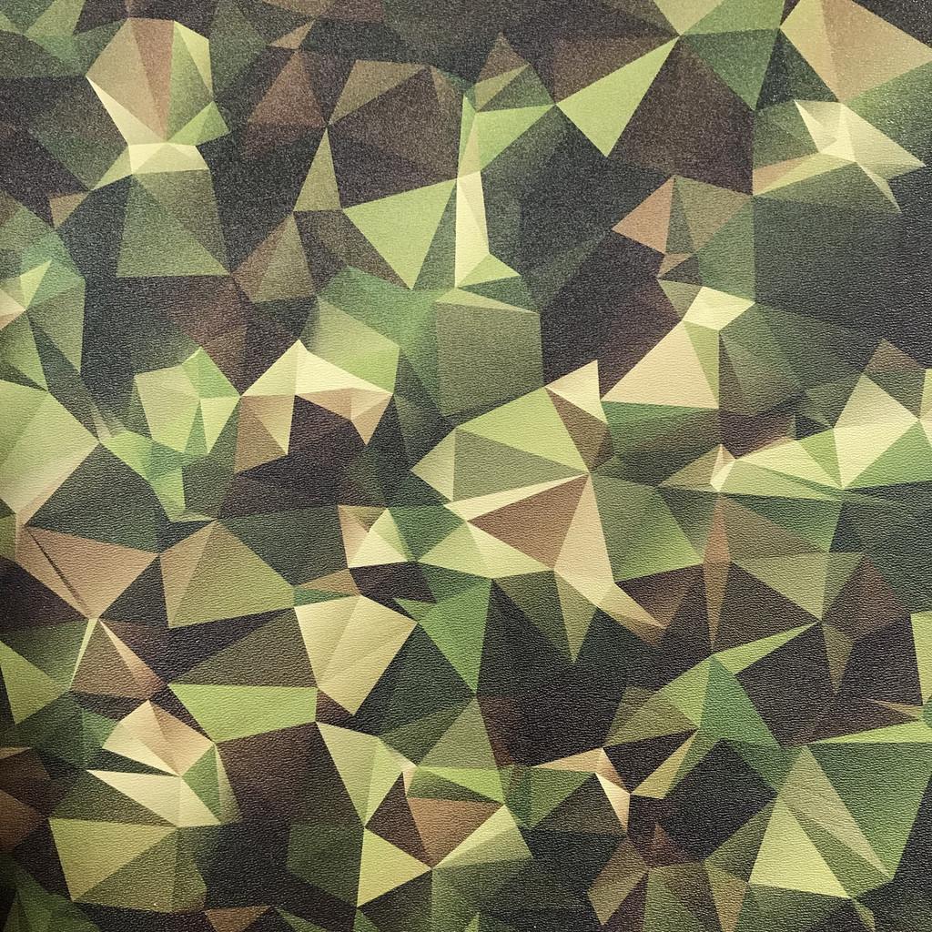 Geometric Woodland Camo