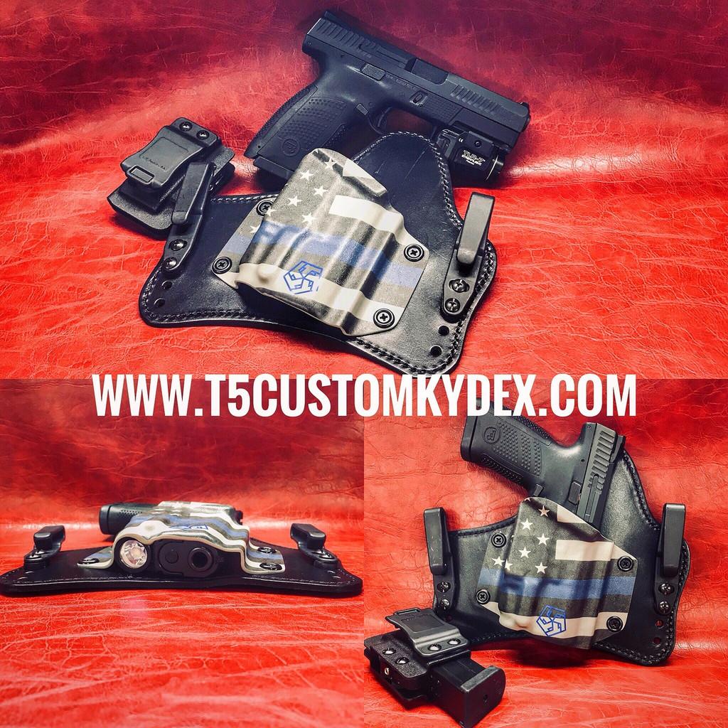 Full Custom Hybrid IWB Tuckable Holster
