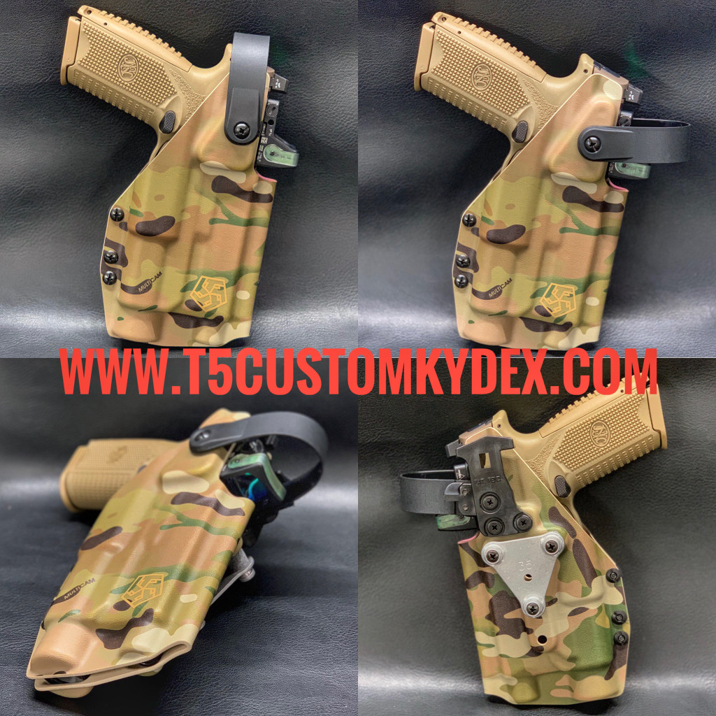 Full Custom T5 Sportster Holster