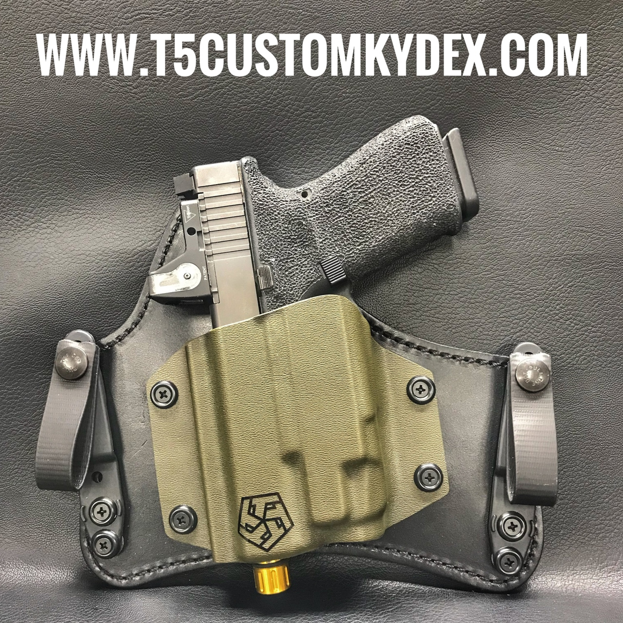 Hybrid IWB Tuckable Holster